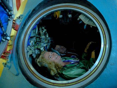 В международной школе космонавтики
